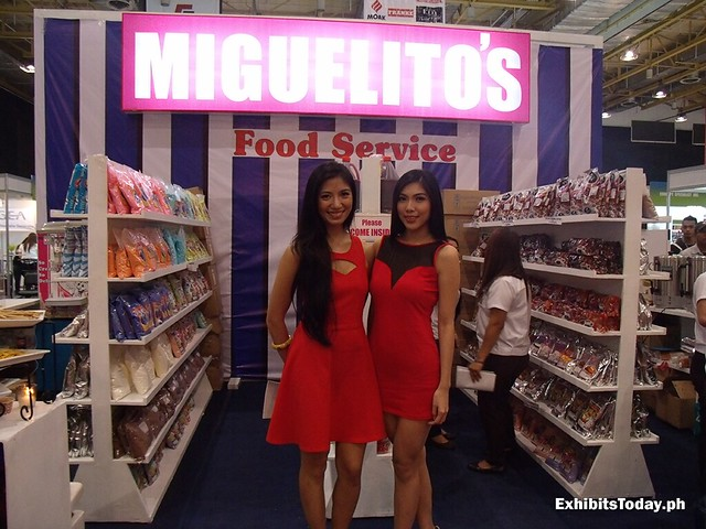 Models of Miguelito's Exhibit Booth