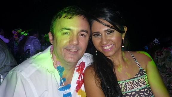 Ildemar e Amanda Portela