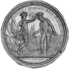 Daniel Morgan medal obverse cliche