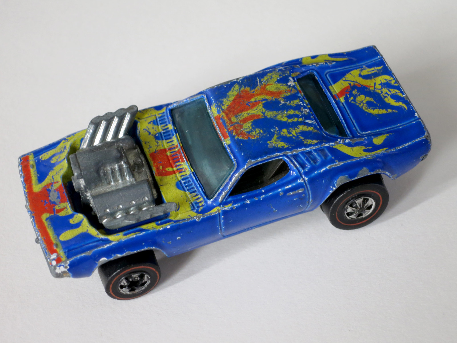 Hot Wheels Redline Rare Blue Rodger Dodger