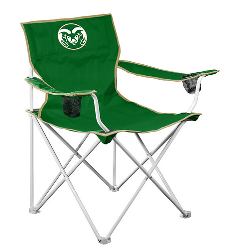 Colorado State Rams Deluxe TailGate/Camping Chair