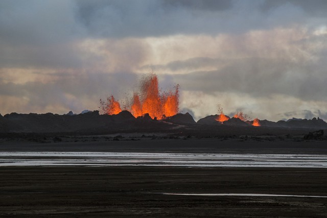 Iceland Day Tours: Volcanic Eruption 2014
