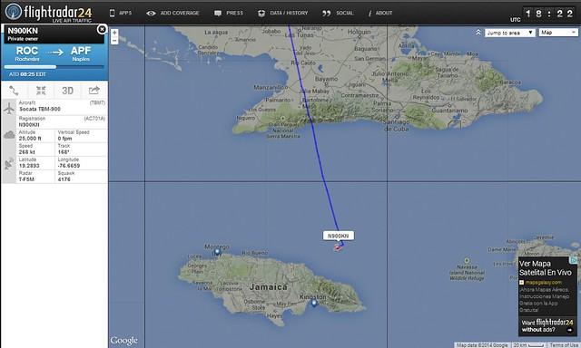 Avión Perdido N900KN 02