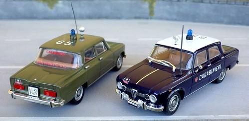 Autoparco Alfa Romeo Giulia Super 69 Radiomobile