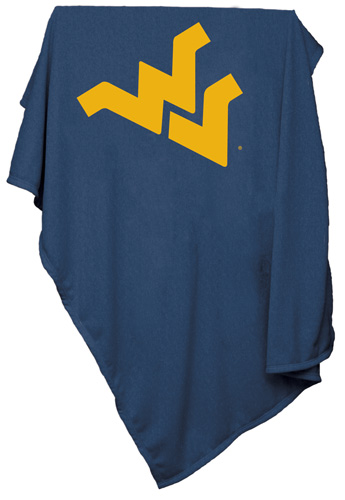 West Virginia Mountaineers NCAA Sweatshirt Blanket
