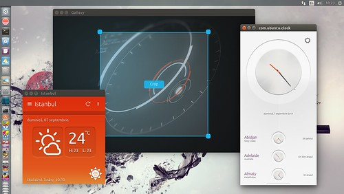 Ubuntu 14.10 Touch apps