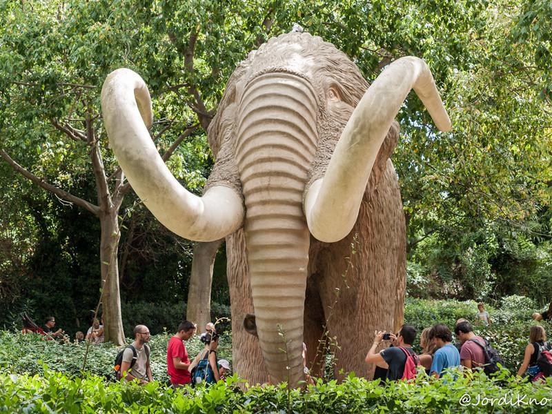 Mamut. Festes de la Mercè. Parc de la Ciutadella, Barcelona.