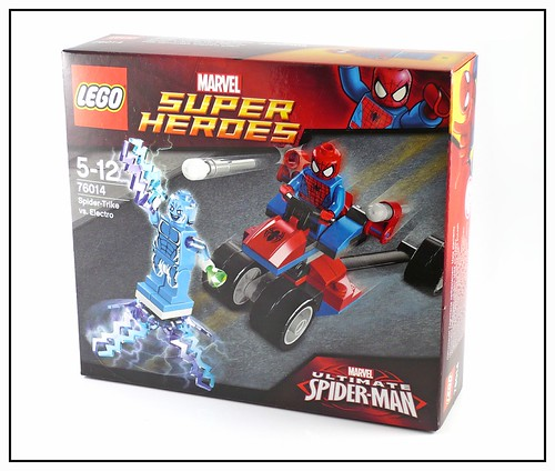 LEGO Marvel Super Heroes 76014 Spider-Trike vs Electro box1