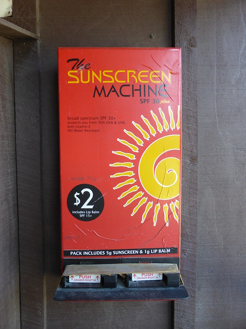 sunscreen machine