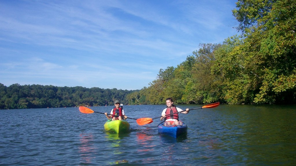 Kayak too much fun