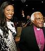 Thuli with Arch Bishop Desmond Tutu