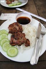 Pork chop - nha hang ngon Restaurant.