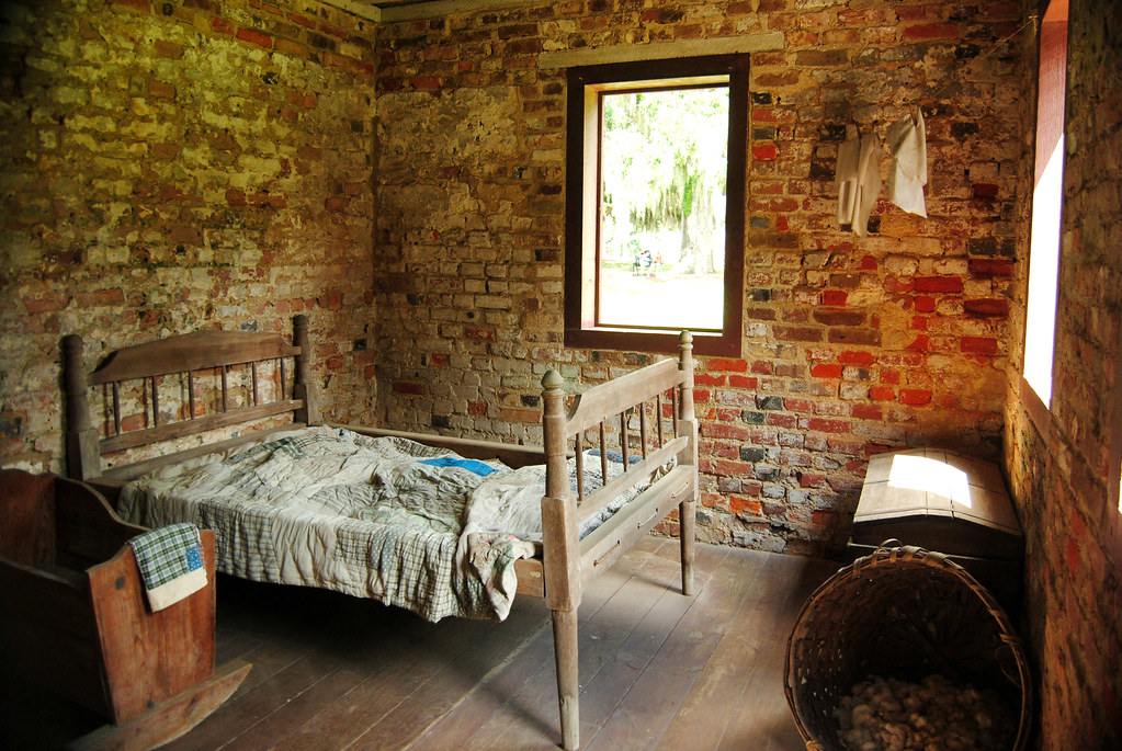Boone Hall Slave House Bedroom