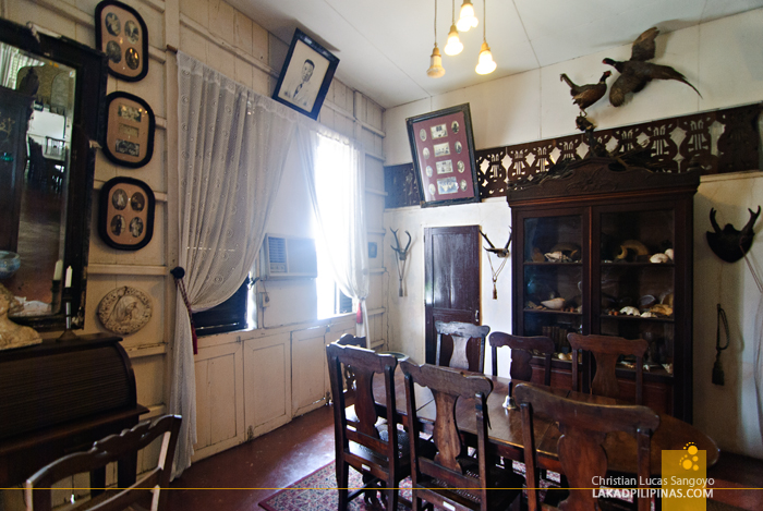 Inside Arce Mansion in Vigan City