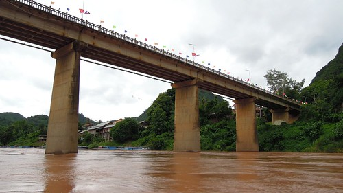 2014 coolpix laos namou nikon nongkhiaw p300 bridge outdoor river water