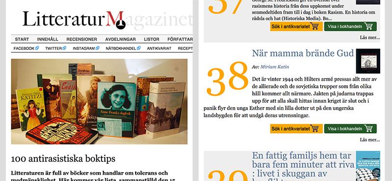 Literatur Magazine | Sweden