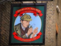 Sherlock is in London