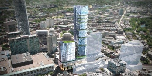1000 Boylston Street Renderings