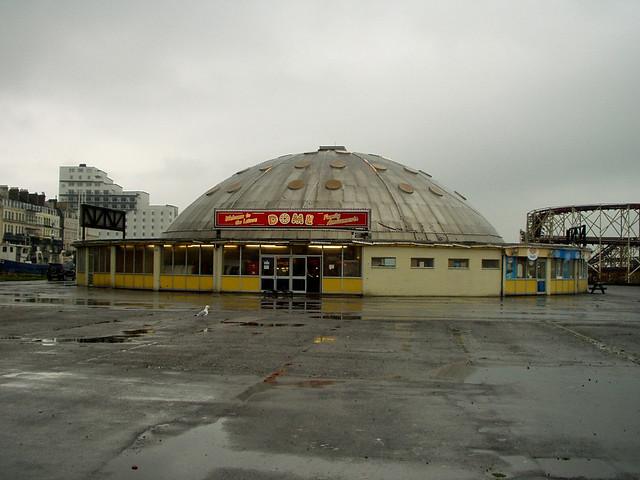 The old Rotunda Amusement park at Folkestone