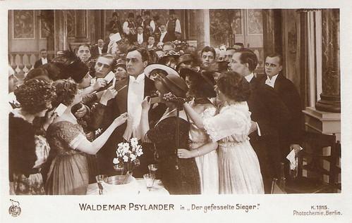 Valdemar Psilander in Hvorledes jeg kom til filmen (1919)