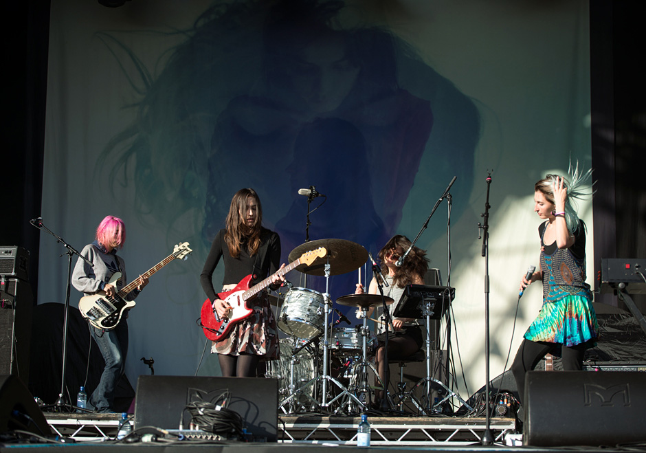 Warpaint @ Field Day 2014
