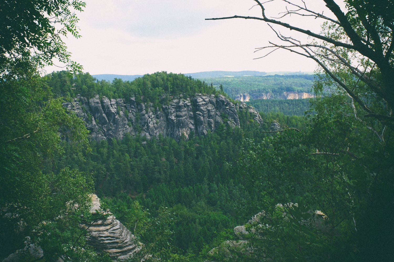 Blick vom Kleinen auf den Großen Bärenstein