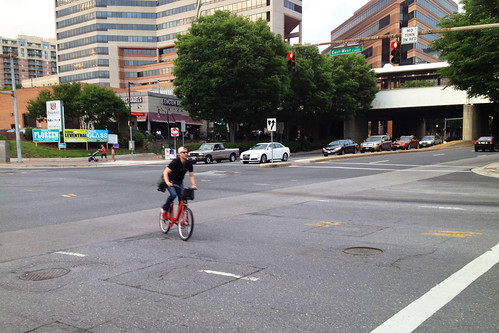 Capital Bikeshare at Colesville and East-West Highway