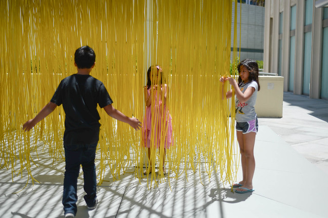 noodle sculpture