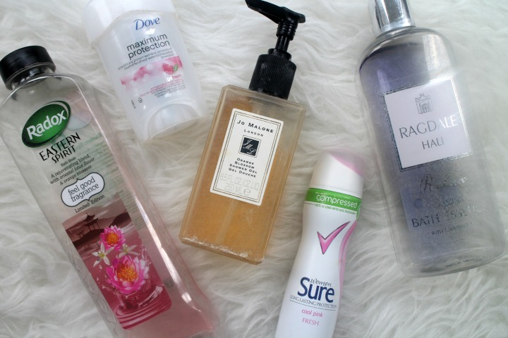 June Bath time empties