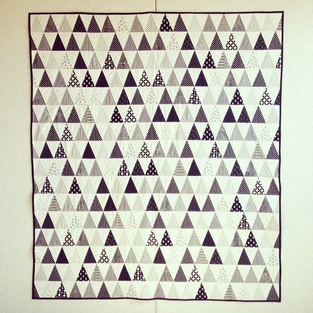 full frontal b&w quilt :)