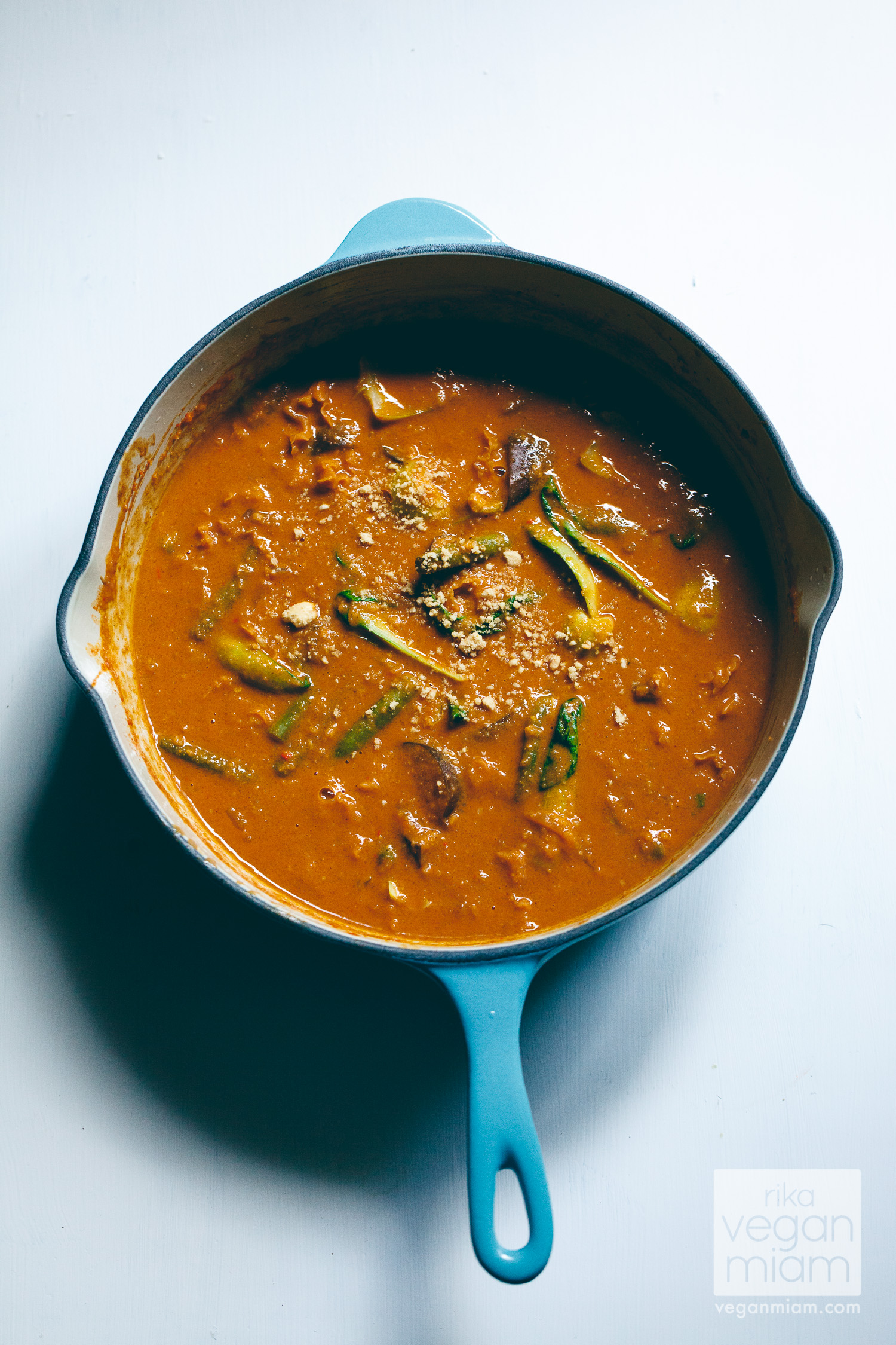 Vegan Kare-Kare (Filipino Peanut Stew)