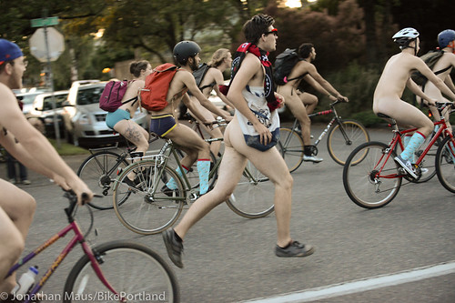 2014 World Naked Bike Ride -53