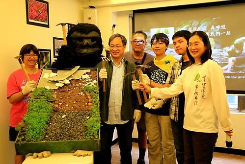由千里步道協會啟動台灣步道日元年,倡議恢復自然步道的面貌,讓步道自由、土地深呼吸。圖片來源:千里步道協會