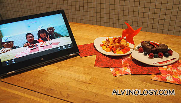 Cooking powered by Lenovo