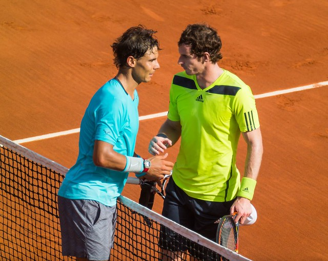Rolland Garros 2014 - Rafael Nadal & Andy Murray 02