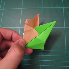 การพับกระดาษแบบโมดูล่าเป็นดาวสปาราซิส (Modular Origami Sparaxis Star) 017