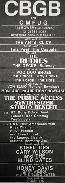 CBGB 08-15-79