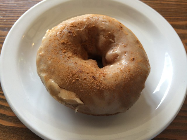 French toast donut - Analog Coffee