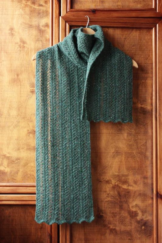Nettle scarf