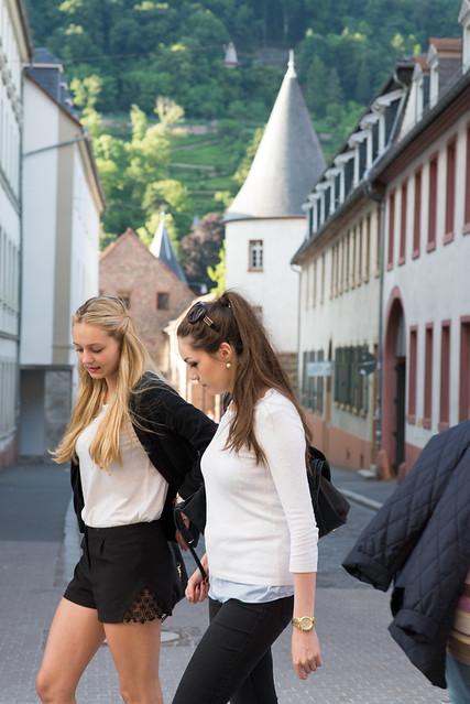 Heidelberg: las alemanas