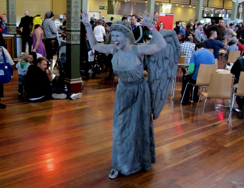 Weeping Angel, at OzComicon 2014