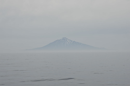 【写真】離島めぐり : 利尻山・礼文島へ向かうフェリーより