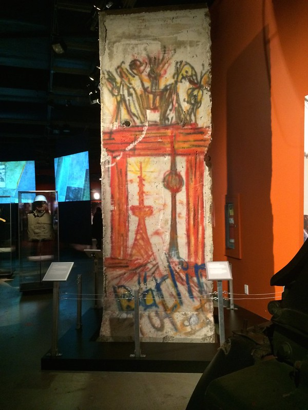 Canadian War Museum Berlin wall