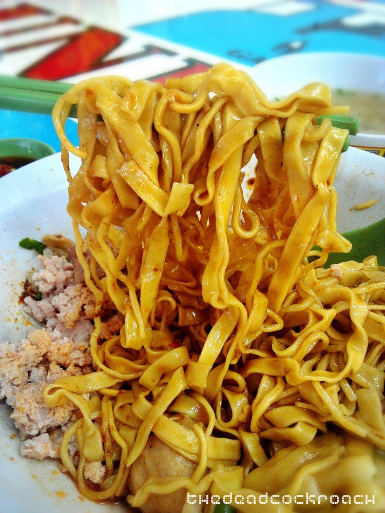 bak chor mee, bcm, food, food review, hill street, review, tai hwa, tai hwa bak chor mee, 吊桥头, 大华, 大华猪肉粿条面, 肉挫面,