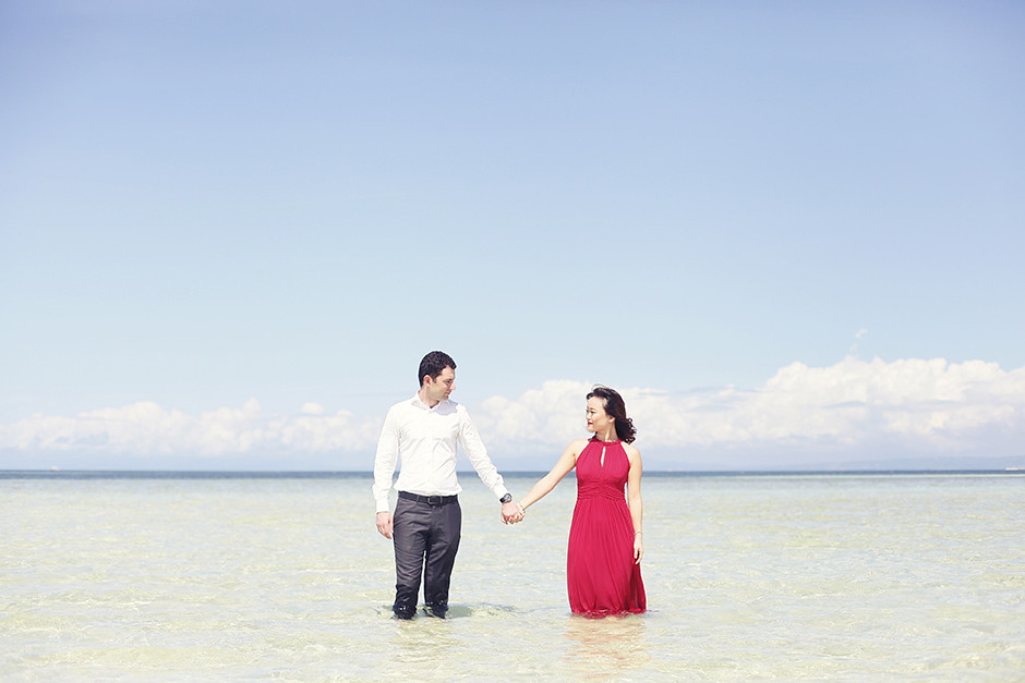 Nalusuan Island Cebu, Cebu Pre-Wedding Session