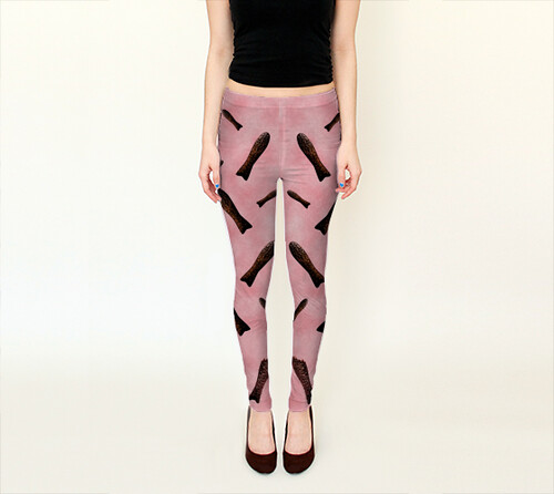 Chocolate Fish Leggings by Squibble Design 1
