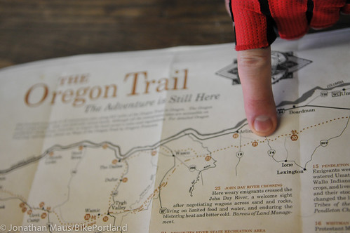 Treo Bike Ranch trip day 3 - Hardman to Columbia River-33