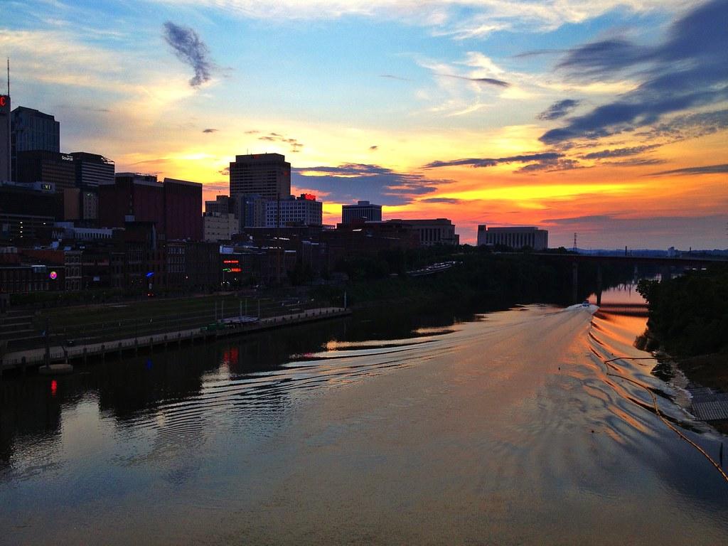 Nashville sunset - iPhone