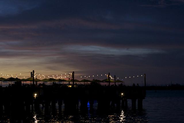 Dusk on the Pier