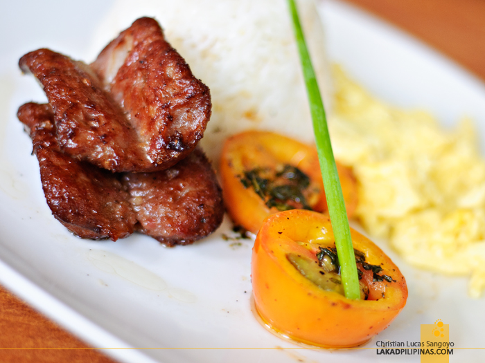 Chicken Longganisa at Kanto Freestyle Breakfast Kapitolyo